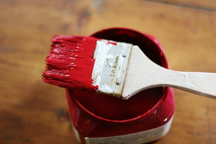red chalk paint - KnickofTime.net