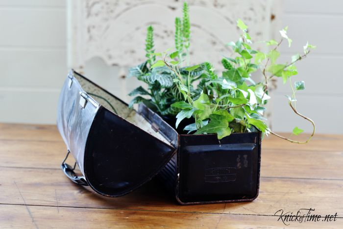 repurposed planters
