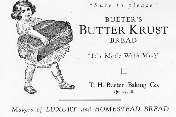 printable vintage bread bakery advertisement - KnickofTime.net
