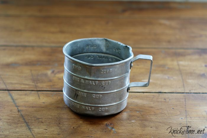 vintage measuring cup