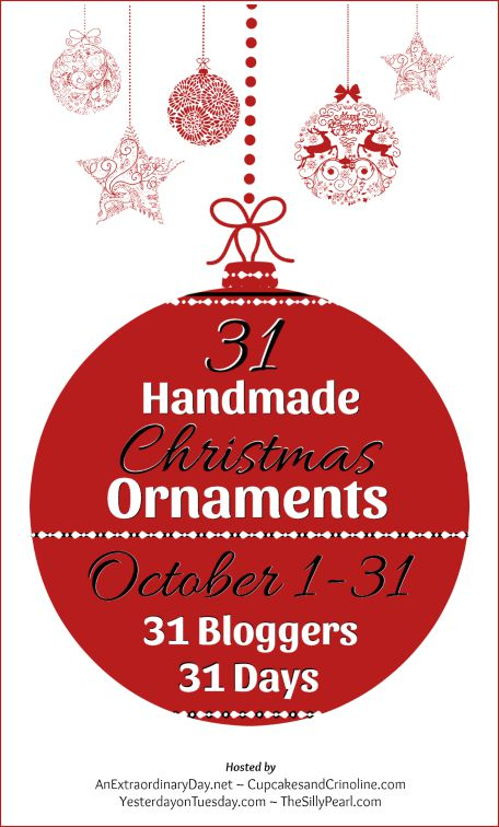 handmade Christmas Ornaments - KnickofTime.net