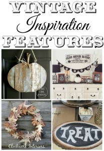 Autumn and Halloween Decor Features from the Vintage Inspiration Party - KnickofTime.net