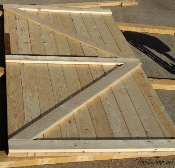 Building A Barn Door   KnickofTime.net