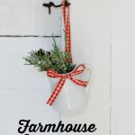 Farmhouse Christmas Ornament