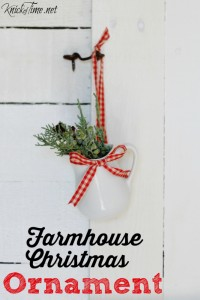 Farmhouse Christmas Ornament - Knick of Time