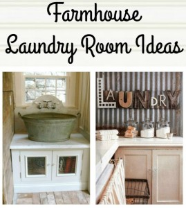 Farmhouse Laundry Room Ideas - KnickofTime.net
