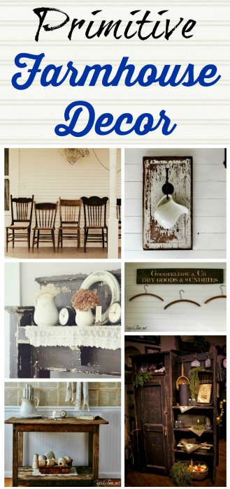 Farmhouse Friday - Primitive Decor - Knick of Time