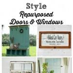 Farmhouse Friday – Repurposed Doors and Windows