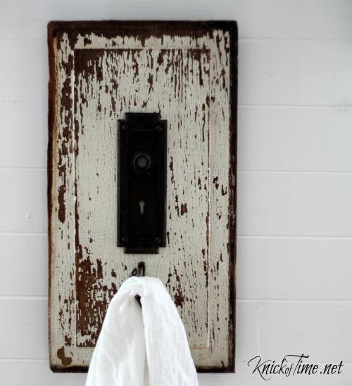 Door Plate Wall Hook - KnickofTime.net