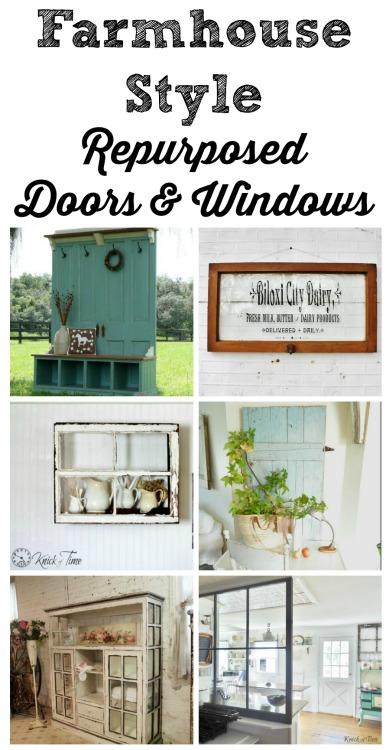 Farmhouse Doors and Windows - KnickofTime.net