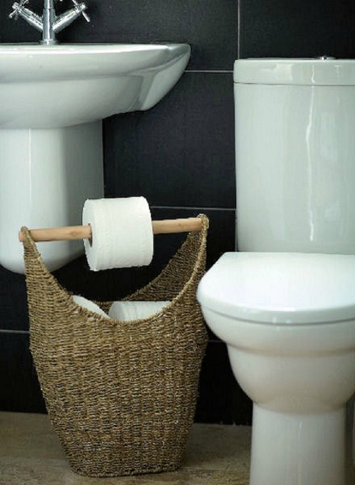 Toilet Paper Bathroom Basket
