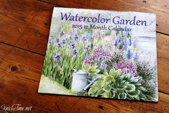 Watercolor Artwork With Old Calendars Knick Of Time