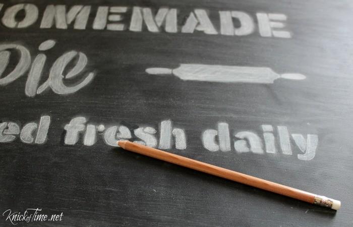 Chalkboard Art - KnickofTime.net