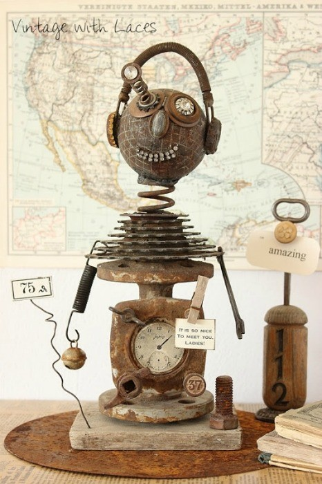 found objects sculpture