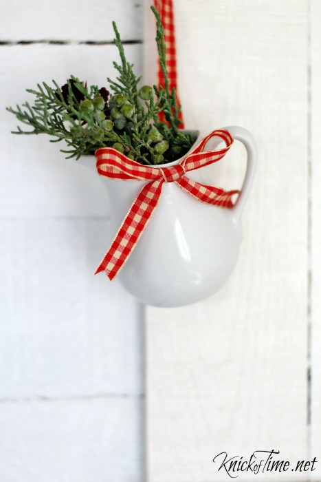 IronstonePitcher Farmhouse Christmas Ornament - KnickofTime.net