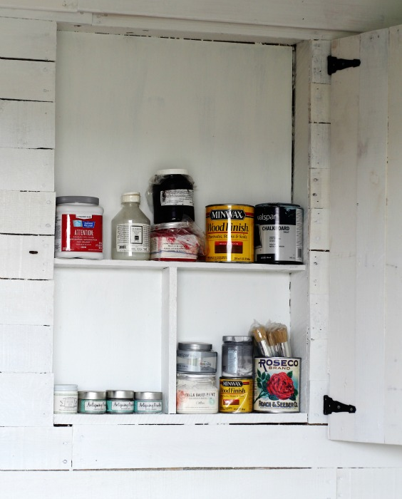 paint can storage cabinet - KnickofTime.net