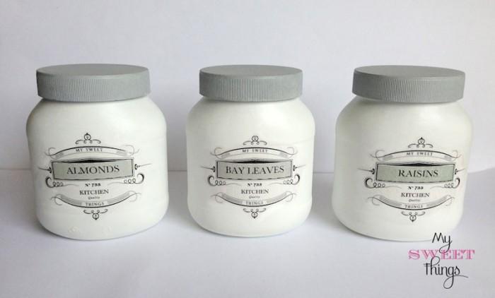 pantry storage jars