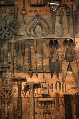 Old Tools Display