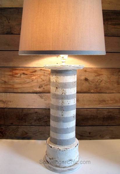 Repurposed Pipe Lamp VIP feature - KnickofTime.net