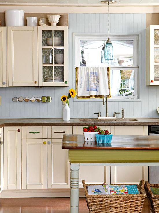 Stenciled Cabinets - KnickofTime.net