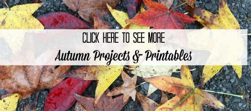 Autumn Projects and Fall Printables at Knick of Time - KnickofTime.net