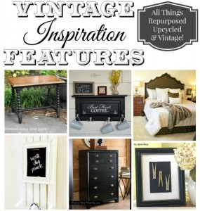 Vintage Inspiration Party #213 – Black Furniture and Home Decor