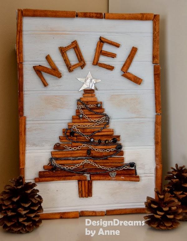 Cinnamon Stick Christmas Art