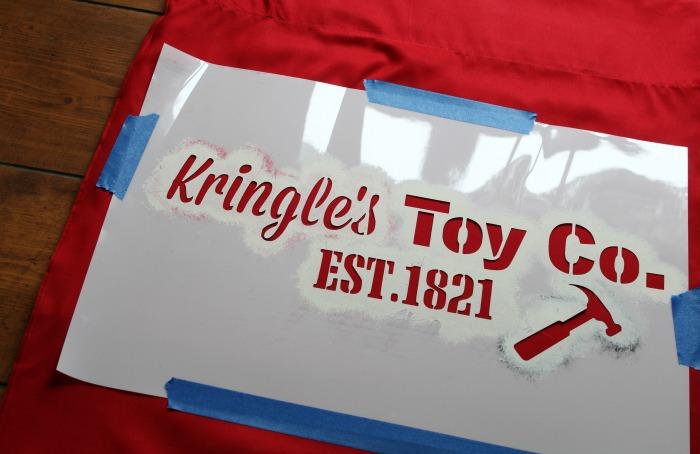 DIY Santa's Bag - KnickofTime.net