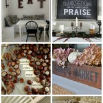Vintage Inspiration Party – Fall Decor & DIY Projects