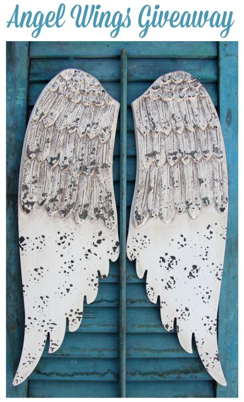angel wings giveaway - KnickofTime.net