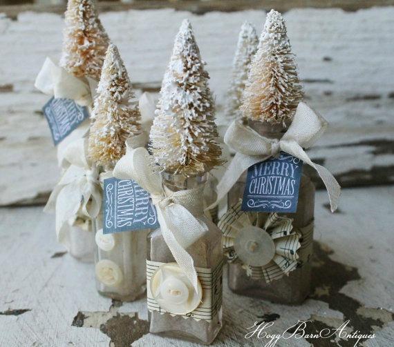 bottle brush tree toppers