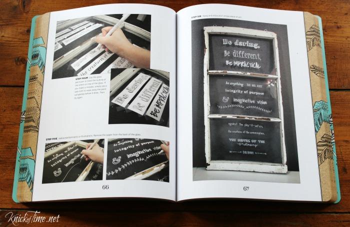 DIY Chalkboard Lettering Projects - KnickofTime.net