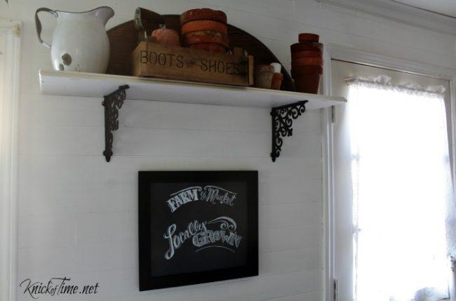 DIY Chalkboard Lettering - KnickofTime.net