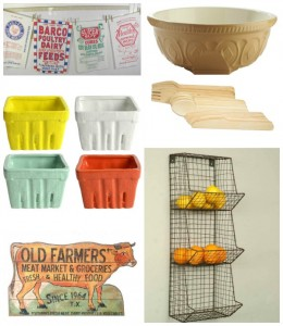 farmhouse kitchen decor Christmas wish list