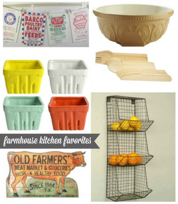 farmhouse kitchen decor - KnickofTime.net