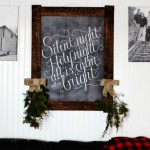 Silent Night in the Living Room and Farewell Photos