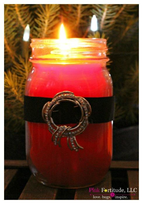 santa candles