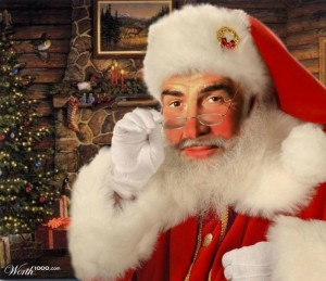Sean Connery Santa Claus