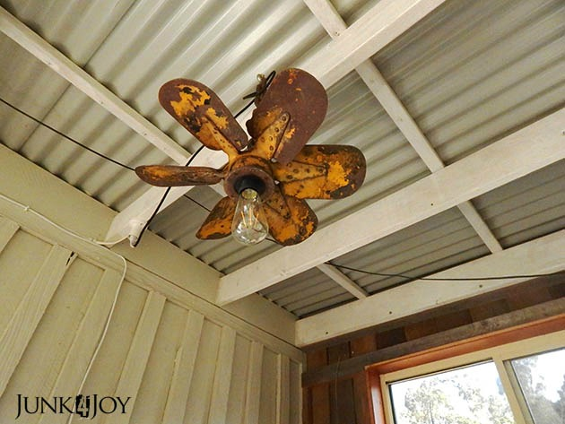 Repurposed Propeller Light
