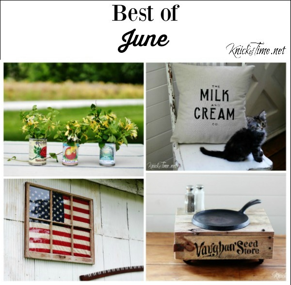 Best June Projects - Knick of Time
