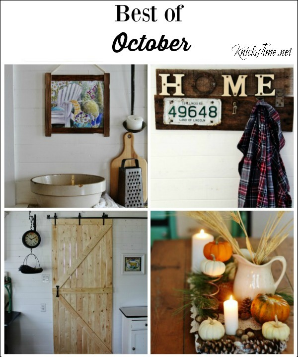 Best October Projects - Knick of Time