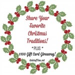 Christmas Traditions and $100 Balsam Hill Giveaway