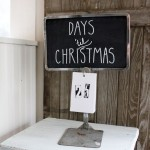 Vintage Inspiration Party #216 – Christmas Vignette & Repurposed Winter Decor