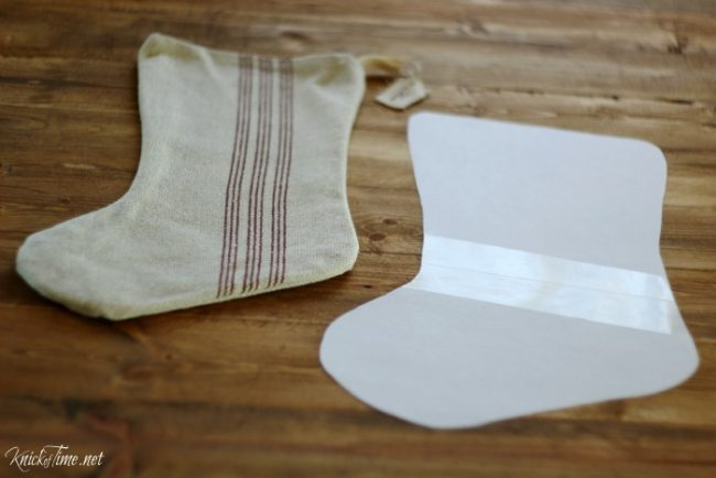 Make a Christmas stocking pattern - KnickofTime.net
