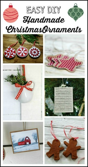 Handmade DIY Christmas ornaments at Knick of Time