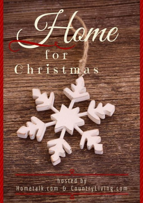 Home for Christmas Tour with Country Living and Hometalk - KnickofTime.net
