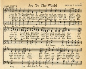 Christmas Music Printables: Joy to the World + More