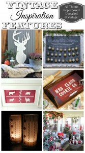 Vintage Inspiration Party #217 – Christmas Roundup