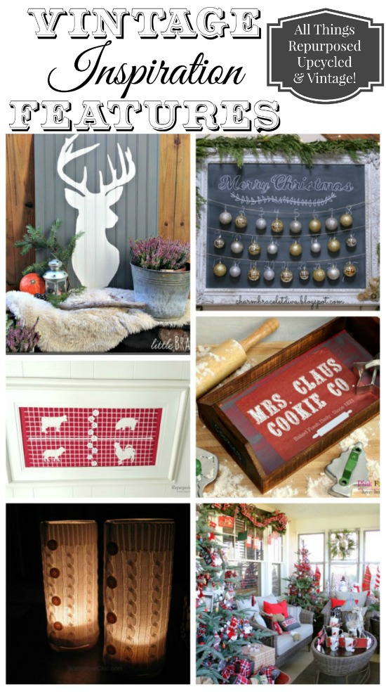 Christmas Roundup of DIY projects featured at KnickofTime.net