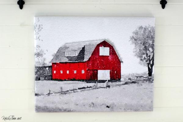 red barn wall art - KnickofTime.net